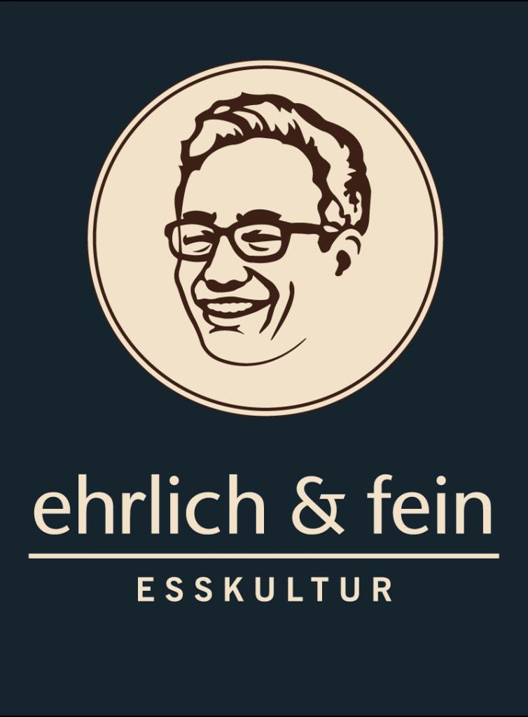 ehrlich und fein Logo Gestaltung by Jonas Riegel
